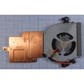 Система охлаждения с кулером для ноутбука Samsung NC110 BA62-00567A BA81-10464C
