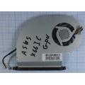 Вентилятор (кулер) для ноутбука Asus K70IC GPU UDQF2ZR10DAS