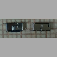 Разъём жесткого диска SMD MICRO USB 3.0 Тип B вертикальный