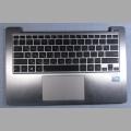 Клавиатура для нетбука Asus X202E в комплекте с палмрестом
