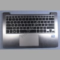 Клавиатура для ноутбука Asus X202E в комплекте с палмрестом
