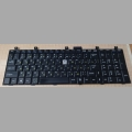 Клавиатура для ноутбука MSI CR600, LG E500, F1, MSI MegaBook A7005, CR500, CR600, CR610, CR720, CX500, CX500DX, CX600, CX605, CX700, ER710, EX600, EX600YA, EX610, EX620, EX623, EX623GS, EX629, EX630, EX700, EX710, EX720, GE600 (черная матовая) рус/англ.