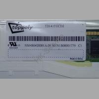 Матрица 14.1'' LAMP 30pin 1024x768 TD141TGCD2