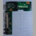 Дополнительная плата портов для ноутбука Asus K52J USB, VGA, HDMI, Audio, K52JR_IO_Board