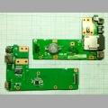 Плата питания Asus K52JR DC Board 60-NXMDC1000