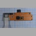 Плата кнопки включения ноутбука Asus X53U PBL60 LS-7326P