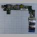 Дополнительная плата портов для ноутбука Asus X101H USB Audio Board LAN 60-0A3JDT1000-B01