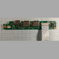 Плата USB и VGA разъемов DNS M100 5000-0003-6301 2013,0220,1500