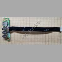 Доп плата USB AUDIO DNS MT50IN 6-71-M74KA-D03 со шлейфом 6-43-M76S0-052