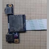 Плата аудиоразъёмов и USB для ноутбука Lenovo G50-45 ACLU2/Aclu4 NS-A275