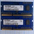 Оперативная память DDR3 EBJ10UE8BDS0-AE-F 1Gb 1RX8 PC3-8500S-7-10-B1