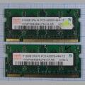 Оперативная память DDR2 HYMP564S64CP6-C4 AB 512Mb 2RX16 PC2-4200S-444-12
