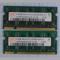 Оперативная память DDR2 HYMP564S64CP6-Y5 AB 512Mb 2RX16 PC2-5300S-555-12
