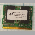 Оперативная память SDRAM MT4LSDT1664WG-133B1 128Mb PC133M-333-542