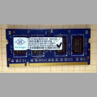 Оперативная память DDR2 NT1GT64UH8D0FN-AD 1Gb 2RX16 PC2-6400S-666-13-A2.800