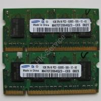 Оперативная память DDR2 M470T2864QZ3-CE6 1Gb 2RX16 PC2-5300S-555-12-A3