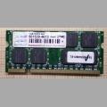 Оперативная память DDR2 Transcend 1Gb ts128msq64v6j PC2-5300