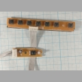 Кнопки управления и ИК приёмник для телевизора Dexp H32B3000E 200-CXK-LE32180-0H 200-CXR-LE32180-0H