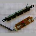 ИК приёмник и кнопки управления для телевизора Samsung LE37A330J1 BN41-00850A BN41-00709A