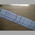 LED подсветка матрицы для телевизора Doffler 40CF15-T2 A4 120-123LM 3.0-3.2V