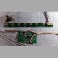 WI-FI антенна, ИК приёмник и кнопки управления для телевизора Supra STV-LC2725AFL RMT056-6 HS11868