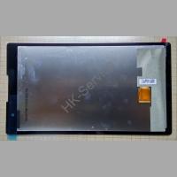 Дисплей + сенсор для планшета Asus Z170CG черный 18100-06900000