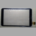 Сенсорный экран (Тачскрин) для планшета Texet TM-8844 YLD-CEG8805-FPC-A1 DP080141D-F1