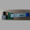 USB гнездо для ноутбука HP Pavilion DV6-3000 series DA0LX6TB4D0
