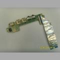 USB/аудио плата 60-0A31I02000-B01 от ноутбука Asus x101