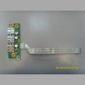 Плата USB разъемов DA0ZQ1TB8D0 от ноутбука Acer Aspire 4745G