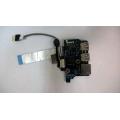 Плата USB + LAN  NAL00 LS-5402P Rev:2.0 для ноутбука Acer Aspire 5538