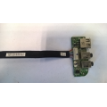 Плата USB + Audio 6-71-C4508-D02A-1 GP для ноутбука DNS C5500