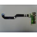 Плата Audio + USB DA0QL4AB8A1 от ноутбука DNS CT50A