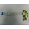 Плата USB и аудио портов DATWHTB18D0 от ноутбука DNS TWH-N12E-GE