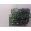 Дополнительная плата USB + LAN  DA0R09PC6F1 от ноутбука Dell inspirion 5720