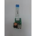 Плата USB HP DV6-3000 DA0LX6TB4D0