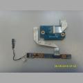 Плата CardReader и плата кнопки включения 48.4RH04.011 48.4RH07.011 от ноутбука HP pavilion DV-7