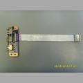Плата USB DA0HK6TB6F0 REV:F IFX-618 от ноутбука Sony SVE151D11V